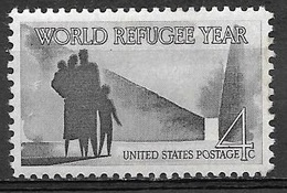 1960 4 Cents Refugee Year Mint Never Hinged - Verenigde Staten