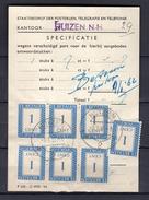 Kantoor Huizen 9.1.1962 7 CENTS (ce22) - Postage Due