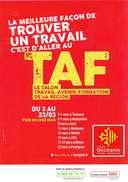 Carte Postale °° Salon TAF  Travail Avenir Formation En Occitanie - Carte 10x15 - Publicité