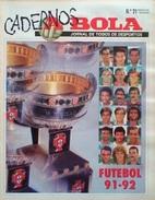 GUIDE DU CHAMPIONNAT DU PORTUGAL 1991/1992 - Livres, BD, Revues