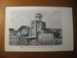 CARTOLINA FORMATO PICCOLO -  PISA LA CITTADELLA COI RESTI DELL ANTICO ARSENALE  - B  1156 - Pisa