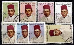 MAROKKO 1968 - MiNr: 599-617 Partie  Used - Marokko (1956-...)