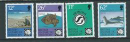 British Antarctic Territory 1991 Treaty Anniversary Set Of 4 MNH - British Antarctic Territory  (BAT)
