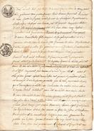 71Db   04 Lurs Acte De Mariage De 1813 Villeneuve - Manuscripts