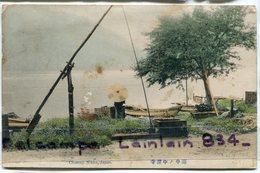 - JAPON - Chuzen  NIKKO -  ( Lake ),  Probablement Un Puits, Rare, De L'usure, Non écrite, Scans. - Japan