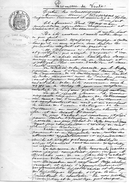 71Db   04 Volx Et La Brillanne Promesse De Vente De 1916 - Manuscripts