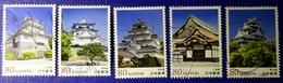 Japon 2013 6458 6462 Chateau Du Japon Okayama Wakamatsu Photos Non Contractuelle - 1989-... Empereur Akihito (Ere Heisei)