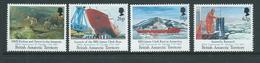 British Antarctic Territory 1991 Research Ships Set Of 4 MNH - British Antarctic Territory  (BAT)