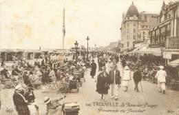 14 - TROUVILLE - La Reine Des Plages - Promenade Des Planches - Trouville