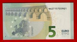 5 EURO N AUSTRIA - CHARGE 15 - N004 G2 - NA2715705901 -  UNC - NEUF - NEW Bankfrisch - EURO