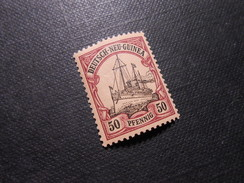 D.R.14  50Pf** Deutsche Kolonien (Deutsch-Neuguinea) 1900  Mi € 5,00 - Colony: German New Guinea