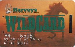 Harvey's Casino - Central City, CO - Slot Card - Insert Arrow Error & Fix - Faraday On Reverse - Casino Cards