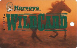 Harvey's Casino - Central City, CO - Slot Card - CPICA 28148 On Reverse (BLANK) - Casino Cards