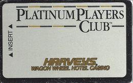 Harvey's Casino - Central City, CO - Slot Card - Platinum Players Club (BLANK)