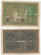 Alemania - Germany 50 Mark 1919 Pick 66 Ref 48-3 - [ 3] 1918-1933 : República De Weimar