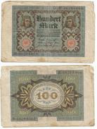 Alemania - Germany 100 Mark 1920 8 Nºs Pick 69.b Ref 52-3 - [ 3] 1918-1933 : República De Weimar