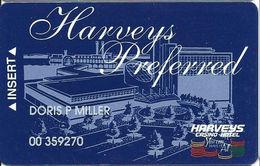 Harvey's Casino - Council Bluffs, IA - Slot Card - No Manufacturing Mark