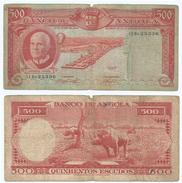 Angola 500 Escudos 1962 Pick 95 Ref 78-2 - Angola