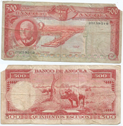 Angola 500 Escudos 1970 Pick 97 Ref 73 - Angola