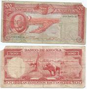 Angola 500 Escudos 1970 Pick 97 Ref 79-2 - Angola