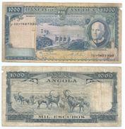 Angola 1.000 Escudos 1970 Pick 98 Ref 80-2 - Angola