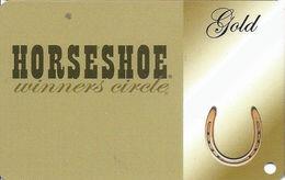 Horseshoe Casino - Gold Level Harrah's Total Rewards Slot Card - Multiple Locations (BLANK) - Casino Cards