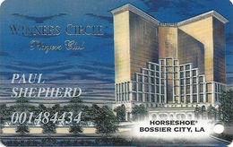 Horseshoe Casino - Bossier, LA - Slot Card - Last Line In Reverse Paragraph Starts With 'abide'