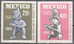 MEXICO         SCOTT NO. 965-66        MNH      YEAR  1965 - Mexique