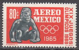 MEXICO         SCOTT NO. C309        MNH      YEAR  1965 - Mexique