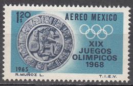 MEXICO         SCOTT NO. C310        MNH      YEAR  1965 - Mexique