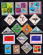 Sport WW Collection 17 X MNH - Olympic Boxing, Volleyball, Run, Stadium Etc...