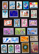 Sport Collection WW, Russia 24 X MNH Hockey, Tennis, Volleyball, Etc