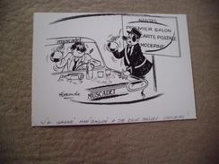 BELLE ILLUSTRATION 1er SALON CPM AU PAYS DU MUSCADET NANTES 1986..SIGNE ALEXANDRE - Alexandre