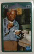 BOTSWANA - Chip - Local Skills - BOT-08 - Ceramics - 25 Pula - Mint Blister - Botswana