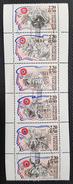 Personnages Célèbres N° 2564 à 2569 Avec Oblitération Cachet à Date De 1989 TTB - France