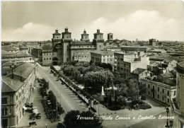 FERRARA  Viale Cavour E Castello Estense - Ferrara