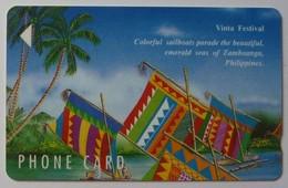PHILIPPINES - GPT 6 - 310 Units - 2PETD - Eastern Telecoms - Vinta Festival - 3000ex - Mint