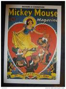Buvard - Walt Disney - Blanche-Neige (Mickey Mouse Magasine, February 1938, St Valentines Day,état Neuf) - (731) - Cinéma & Theatre