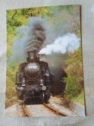 D147035  Hungary  Train Engine Railway - Putnok-Eger -MAVAG 1923 - MAV 375562 Engine -2000 - Eisenbahnen