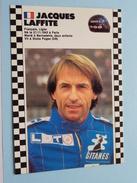JACQUES LAFFITE Français / Ligier 1986-1987 Champion ( 21.11.1943 Paris ) ( Zie Foto Voor Details ) !! - Grand Prix / F1