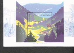 Bund Block 68 Schwarzwald Postfrisch MNH ** - [7] West-Duitsland