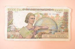 (AR10) 10000 Francs Génie Français DH.6-11-1952.DH. 1952 X3368 - 1871-1952 Anciens Francs Circulés Au XXème