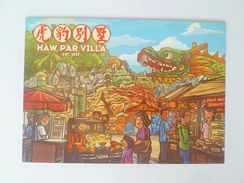 Old Advertisement Postcard -   2014 Singapore Haw Par Villa (P120) - Singapur