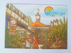 Old Advertisement Postcard -   2014 Singapore Sentosa  (P121) - Singapur