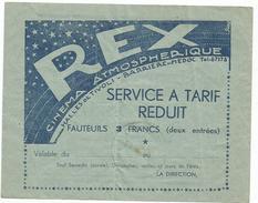 LE REX , CINEMA ATMOSPHERIQUE A BORDEAUX - Zonder Classificatie