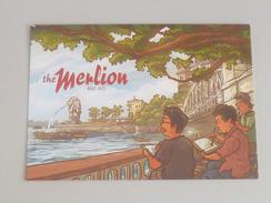 Old Advertisement Postcard -    2014 Singapore The Merlion Old Merlion Park (P122) - Singapore