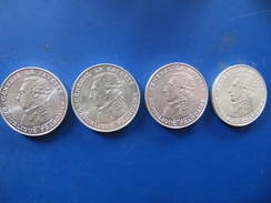 LOT DE 4 PIECES DE 100 Francs Lafayette -  1987 - N. 100 Francs