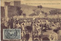 13- FEZ -les Fêtes De Moulay-Idriss - Le Défilé Des Boeufs Destinésau Sacrifice -ed. Niddam - Fez