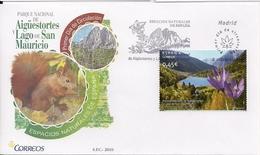 2010 Spanien Mi. 4541 FDC   Nationalpark Aigüestortes Y Lago De San Mauricio - FDC