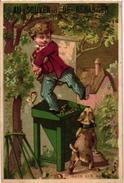 6 Cards Pub Guérin Boutron Tour St Jaques Charlemagne Boyer Béranger  Le Jeu De Tonneau Game Of Barel TONNEN - Jeux De Société